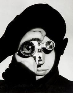 Andreas Feininge. Portrait of Dennis Stock 1951