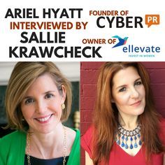Join us on the Ellevate Podcast as Sallie Krawcheck interviews me about how to build your personal brand, how to effectively crowdfund, and how to sustain a healthy business career in today's market! Today's Market, Personal Branding, Sally, Investing, Career, Interview, Join, Singer, Marketing