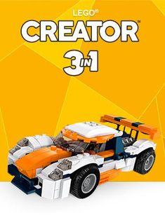 Lego Creator 3v1 v požičovni Lega | 9 - 15 € za každú stavebnicu | Viac hrania, menej neporiadku | Pre dievčatá aj chlapcov | 6-12 rokov Lego Creator, The Creator