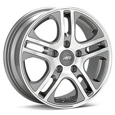 American Racing Axl (Machined w/Anthracite Accent)