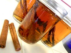 how to make essential oils - have done this with peppermint but not with vanilla or cinnamon !