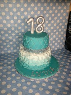 18th birthday cake for a girl