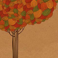 The bundle of thoughts by Pridumala , via Behance