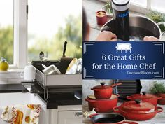 6 Great Gifts for the Home Chef From the Home Decor Discovery Community At www.DecoAndBloom.com