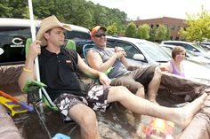 A Redneck Swimming Pool, Brought to you by Team Merica at the Ice Cream Social 2013