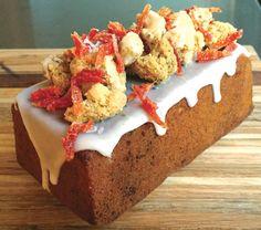 Grapefruit Poppy Seed Cake + Baked Crumble + Grapefruit Glaze + Candied Kumquat fc   angela pinkerton of craftsman and wolves