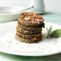 Zucchini Chips  Garlic Vinaigrette