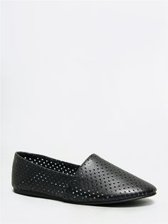 Just picked these up at DSW. So comfy!!! Madden Girl SWOOOP Perforated Loafer Flat -