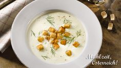 Topfenrahm-Suppe #soup #veggie #vegetarian #colddays