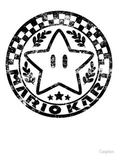 Mario Kart Emblem by Casplen
