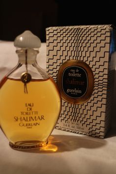 Vintage Shalimar EDT, 100ml-3.4fl.oz., ORIGINAL VERSION!! New Bottle sealed with Box. by VintageParfum4Women on Etsy