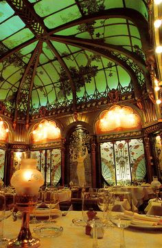 Art Nouveau Dining Room interioralchemy.tumblr.com/