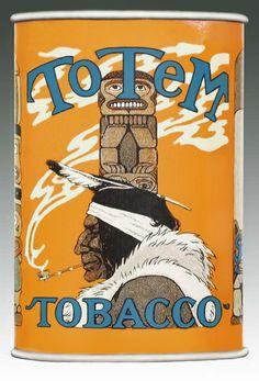 Pocket Tobacco Tin - Totem