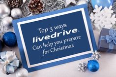 Top 3 ways Livedrive can help you prepare for Christmas - http://blog.livedrive.com/2012/12/top-3-ways-livedrive-can-help-you-prepare-for-christmas/