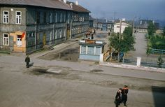 Spy's eye view of Russia: Never-seen-before photos of Stalin-era USSR Life In The 1950s, In Soviet Russia, Back In The Ussr, Country Estate, Soviet Union, Eastern Europe, Historian, Street View, Fotografia