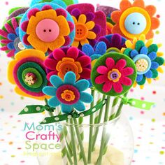 This is The Most Beautiful Bouquet, and it's easy enough for a kid to make! Let these crafts for kids bloom in your home!