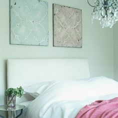 Nice tiles on the wall.  Modern Victorian bedroom | Bedroom furniture | Decorating ideas | housetohome.co.uk