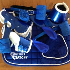Royal Blue Matchy Tack Sets <3 Your horse will look stunning!!!