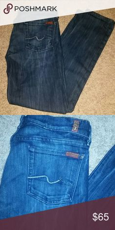 "7 For All Mankind Skinny Jeans EUC 7 For All Mankind Skinny Jeans  Dark wash, great condition!! Inseam 29"" ?? Offers welcome! Take 15% off automatically at check out when using the bundle feature, or make an offer on your bundle! ?? 7 For All Mankind Jeans Skinny"