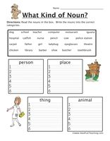 Printables Fun Grammar Worksheets worksheets parts of speech and grammar on pinterest