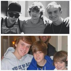 2009 (or close to) to 2013. crying #StratfordBoys #stillkidrauhl