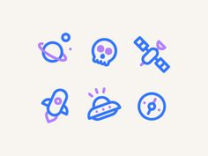 Random Icons by Jakob Scott http://iconutopia.com/best-icons-of-the-week-week-11/