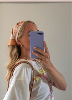 Bandana Hairstyles, Summer Hairstyles, Cute Hairstyles, Aesthetic Hair, Aesthetic Clothes, Hair Inspo, Hair Inspiration, Images Esthétiques, Grunge Hair