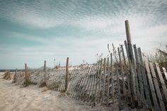 Beach Photography Seascape Art, Sand Dune Fence Print by KateRyanFineArt Photography Sites, Beach Photography, Fine Art Photography, Landscape Photography, New Jersey Beaches, Long Beach Island, Seascape Art, Beach Print, Beach House Decor