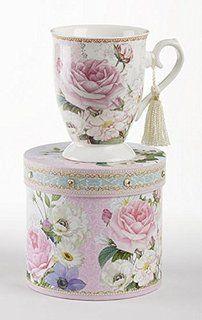 Philomena Bulk Discount Teacups Set of 6 Include 6 Inexpensive Tea ...