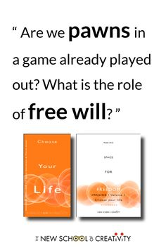 How much is determinism and how much depends on our determination?⇒ discover #ChooseYourLife #zineIMAGINE and its workbook #SpaceForFreedom