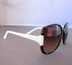 35e507ef045 Cole Haan C 6080 21 Womens Oversized Sunglasses Tortoise White RARE by Cole  Haan.  49.90