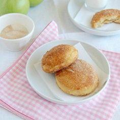 Apple Maple Doughnuts