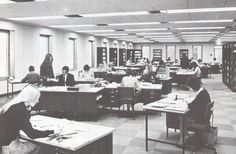 1970's Office Space | Image Source: The Serendipity Project / Western Power Distribution