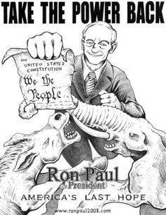 Ron Paul 2012! So sad that we the people are so stupid and call him crazy.