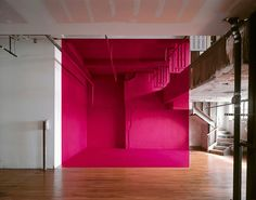 With his mind-bending perspective art, renowned artist Georges Rousse has proved that he is both an artist and a magician. His amazing paintings create order out of what, from any angle but the right one, seems like total chaos.