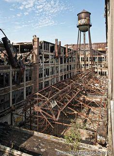 -Abandoned- The Packard Motor Car Company, Detroit MI - Matthew Christopher's Abandoned America