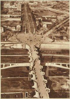 Puente de Toledo y Paseo de los Ocho Hilos, 1925. BNE.