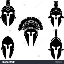 Excellent Spartan Vector Art Draw: HD Spartan Helmet Clip Art Black And White Layout Spartan Logo, Spartan Tattoo, Samurai Helmet Tattoo, Spartanischer Helm, Knight Tattoo, Helmet Logo, Greek Warrior, Spartan Warrior, Tatoo