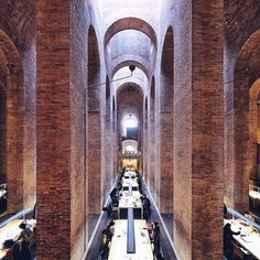 Les Aigües Library. UPF | Lluís Clotet & Ignacio Paricio | 1993 | Formerly a Water Tank | Josep Fontserè i Mestre | 1874 | Barcelona #Barcelona #architecture : @stoptheroc