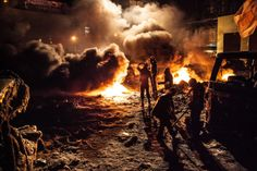 Kiev's Battlefield: Protests Ignite Fiery Clashes in Ukraine   TIME.com