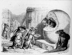 fable Jean de La Fontaine : le rat qui s'est retiré du monde