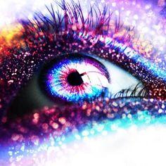Galaxy Explosion Eye