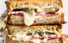 This sandwich can be lunch, a snack, or a late-night thing. Eat it with potato chips and lemonade; it's also great with a simple green salad for dinner.