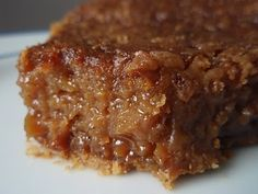 Brown Sugar Pie | Great for those folks that have a nut allergy. Just like pecan pie!