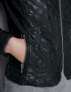 QUILTED JACKET - Jackets - TRF - ZARA United States
