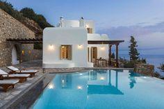 Mykonos Villa Aphrodite in dandy Agios Lazaros - HomeTality Luxury Estate, Luxury Homes, Mykonos Villas, Resort Villa, Private Pool, Stunning View, Luxury Villa, Aphrodite, Luxury Travel