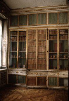 "Marie Antoinette's Library, from ""Unseen Versailles"" - Deborah Turbeville (1980)"