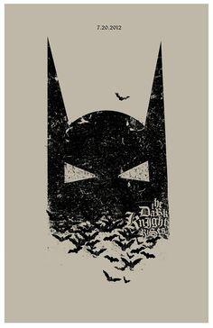 The Dark Knight Rises poster by TheArtOfAdamJuresko on Etsy