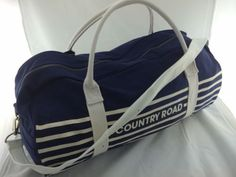 EXPRESS-POST-3-Color-COUNTRY-ROAD-TOTE-BAG Canvas Bags, Tote Bags, Gym Bag, Wallets, Country Roads, Happiness, Sew, Best Deals, Ebay