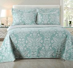Vera Queen to King Bed Coverlet Set - Shop